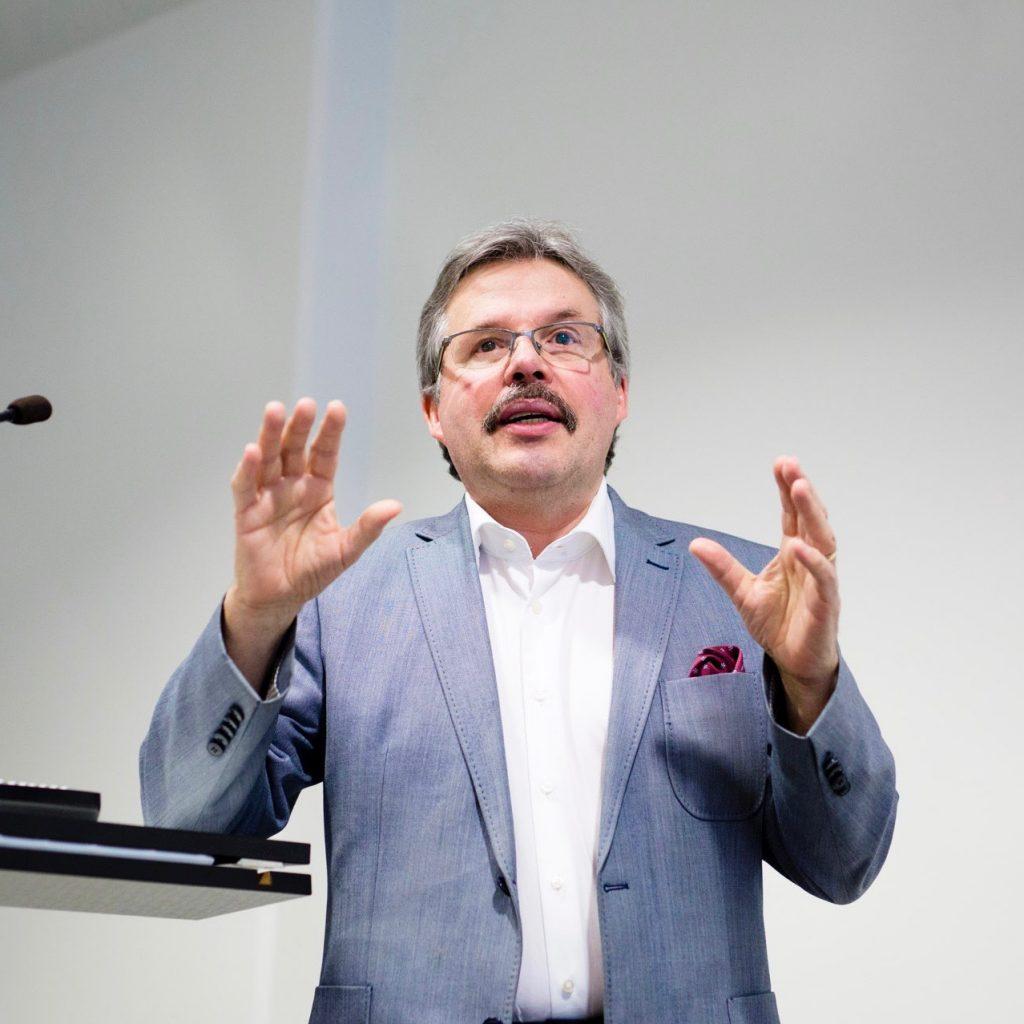 Äyräpää-palkinnon saaja Mikael Knip. Lääkäri 2017 ennakkoinfo.  Kuva: Miikka Pirinen